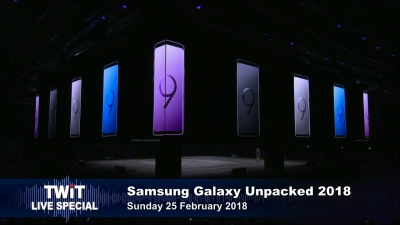 Samsung Galaxy S9 unveiled at MWC 2018
