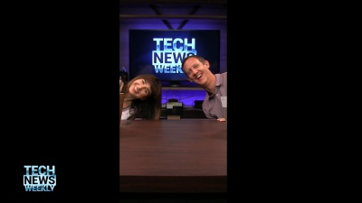 Megan Morrone and Jason Howell in vertical video