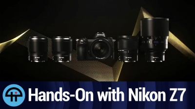 Hands-on the Nikon Z7 with DPReview