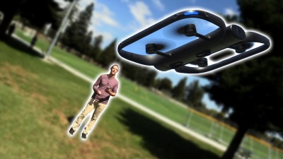 Skydio R1 - An autonomous drone that can follow you.