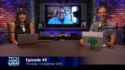 Megan Morrone, Sean Gallagher, and Jason Howell - TNW 49