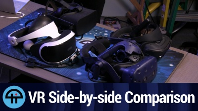 VR Side-by-side Comparison