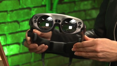 Hands-On With Magic Leap's AR Headset