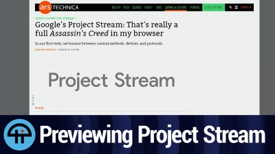 Previewing Project Stream