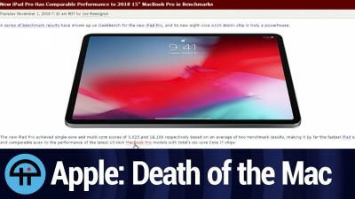 Apple Event: Death of the Mac