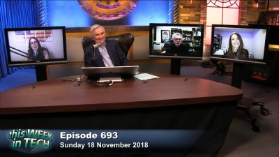 Brianna Wu, Leo Laporte, Larry Magid, and Georgia Dow