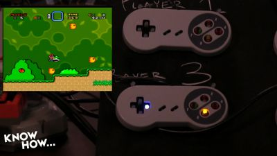 Super Mario and modified controllers - Know How 412