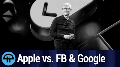 Apple Spanks Facebook and Google for Data Slurping