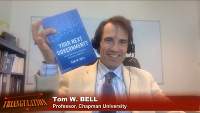 "Tom W. Bell, author of ""Your Next Government?: From the Nation State to Stateless Nations"""