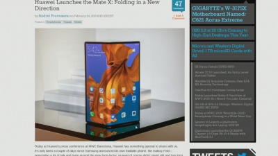 Foldable Phones at MWC - Where is Apple's?