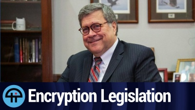 Barr Threatens Encryption Legislation