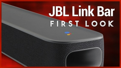 The new JBL Link Bar is a voice-activated soundbar with Android TV built-in, including Google Assistant, the Google Play store, and Chromecast.