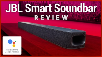 Voice-Activated Smart Soundbar with Android TV & Google Assistant