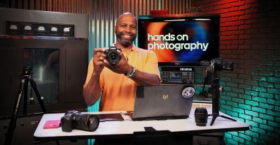 Ant Pruitt hosts Hands-On Photography