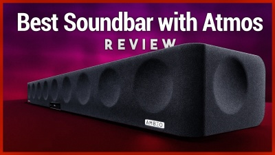 The ultimate soundbar with Dolby Atmos 5.1.4