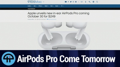 AirPods Pro Arrive tomorrow