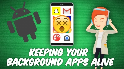 How to Stop App Crashes When Running in Background on Android?