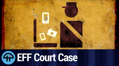 ACLU, EFF wins ruling in traveler device search case