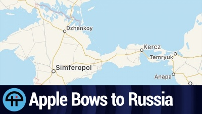 Apple Bows to Russia