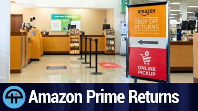 Amazon's return policy has changed. The company now encourages customers to return products to Kohl's.