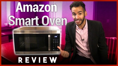 Alexa-Controlled 4-in-1 Microwave Oven Air Fryer