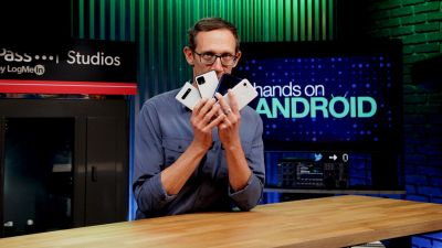 Jason Howell in Hands-On Android