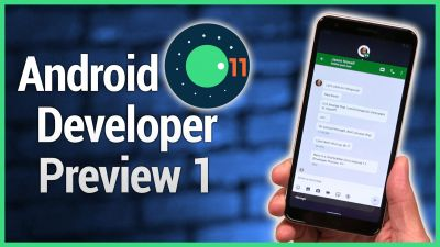 Android 11 Developer Preview 1 is out!