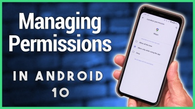 Permissions controls, Location sharing