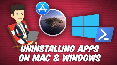 Properly delete programs on Windows and Mac.