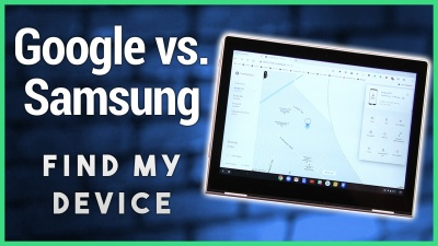 Google's Find My Phone, Samsung's Find My Device