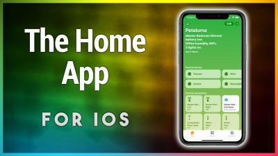 A brief walkthrough of the Home app