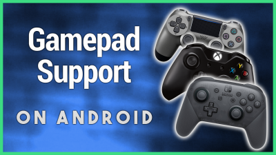 PS4, Switch, and Xbox One gamepads on Android