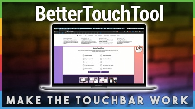 BetterTouchTool - Making the Touchbar Useful