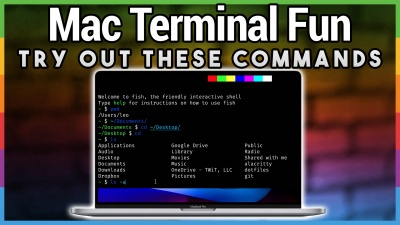 Terminal Commands for Your Mac