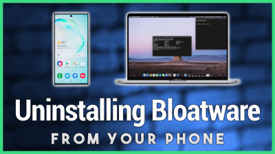 Removing Uninstallable Apps From the Phone