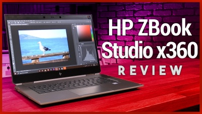 HP ZBook Studio x360 G5 Review - 2-in-1 4K Workstation Laptop