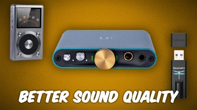 Get Better Sound With Headphone Amps & DACs