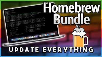 Homebrew Bundle: Set Up a Mac Fast
