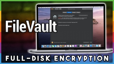 Using FileVault to Secure Your Data