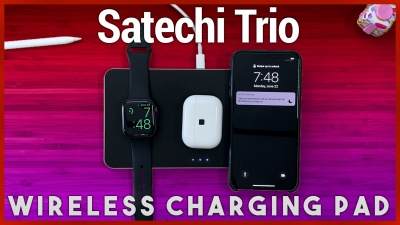 Satechi Trio Wireless Charging Pad Review - Apple AirPower Mat Alternative