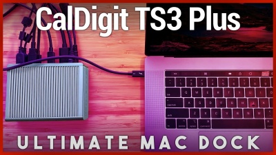 CalDigit TS3 Plus Review - Best MacBook Pro Dock with USB-C Thunderbolt 3