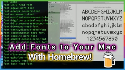 Fastest Way to Add Mac Fonts