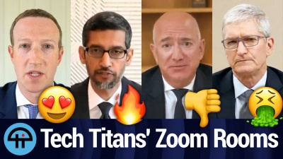 We Rate Tech Titans' Zoom Bkgds