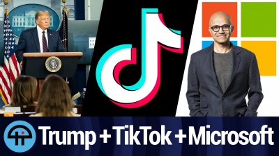 Will MS Buy TikTok? Will Trump Get a Cut?