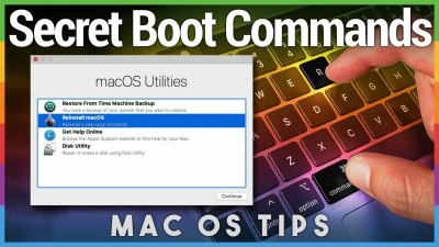 Secret Mac Boot Commands