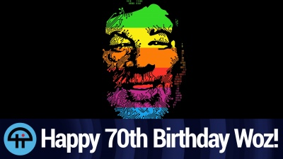 Happy 70th Birthday Woz!
