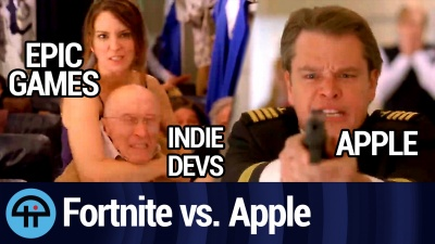 Epic vs Apple: Fortnite Fights the Fruit Company