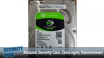 Amazon Flying Security Cam, ZeroLogon on GitHub, Ransomware Roundup
