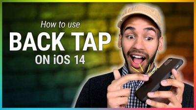 How to Use the Back Tap Shortcut on Your iPhone