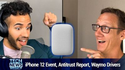 Apple's iPhone 12 Event, Big Tech Antitrust Report, Waymo Safety Drivers